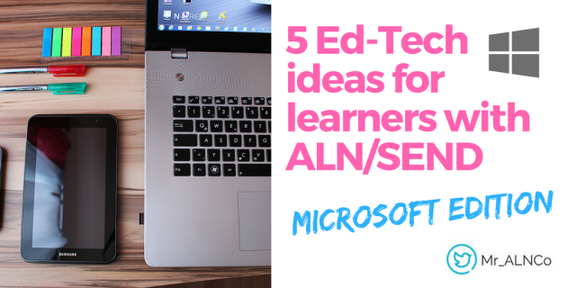 'Solve for One, Extend to Many' –            Let's #hackcess education for ALN/SEND –  ALN | SEND | WELLBEING | ED-TECH